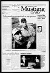 Mustang Daily, April 10, 2001