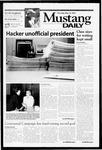 Mustang Daily, May 10, 2001