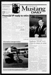 Mustang Daily, May 21, 2001