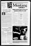 Mustang Daily, October 8, 2001