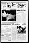 Mustang Daily, October 12, 2001