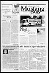 Mustang Daily, October 17, 2001