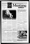 Mustang Daily, October 18, 2001