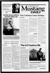 Mustang Daily, October 23, 2001