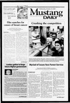 Mustang Daily, October 24, 2001