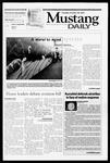 Mustang Daily, October 30, 2001
