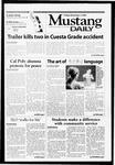 Mustang Daily, November 2, 2001
