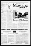 Mustang Daily, November 5, 2001