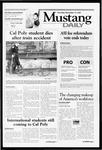 Mustang Daily, November 15, 2001