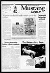 Mustang Daily, November 19, 2001