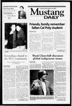 Mustang Daily, November 20, 2001