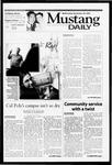 Mustang Daily, November 28, 2001