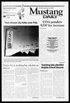 Mustang Daily, January 28, 2002
