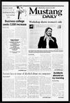 Mustang Daily, January 30, 2002