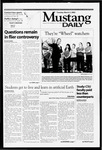 Mustang Daily, March 5, 2002