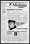 Mustang Daily, September 30, 2002