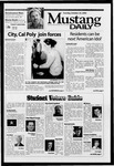 Mustang Daily, October 22, 2002