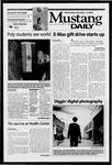 Mustang Daily, November 13, 2002
