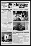 Mustang Daily, November 25, 2002