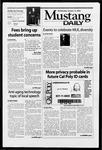 Mustang Daily, January 15, 2003