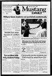 Mustang Daily, April 7, 2003
