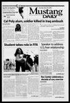 Mustang Daily, April 29, 2003