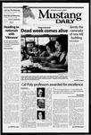 Mustang Daily, June 2, 2003