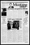 Mustang Daily, October 1, 2003