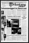 Mustang Daily, October 8, 2003