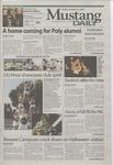 Mustang Daily, October 31, 2003