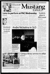 Mustang Daily, November 3, 2003