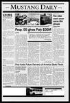 Mustang Daily, April 30, 2004