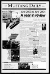 Mustang Daily, June 4, 2004