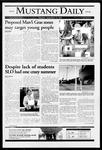 Mustang Daily, September 23, 2004