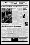 Mustang Daily, October 6, 2004