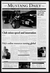 Mustang Daily, October 11, 2004