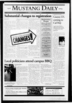Mustang Daily, October 15, 2004
