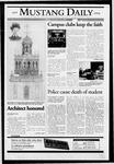 Mustang Daily, October 22, 2004