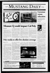 Mustang Daily, November 1, 2004