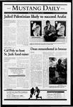 Mustang Daily, November 15, 2004