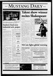 Mustang Daily, November 18, 2004