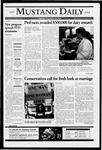 Mustang Daily, November 22, 2004