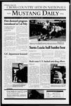 Mustang Daily, November 23, 2004