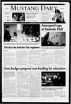 Mustang Daily, January 11, 2005