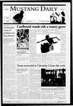 Mustang Daily, January 24, 2005