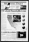 Mustang Daily, January 25, 2005