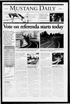 Mustang Daily, April 20, 2005
