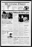 Mustang Daily, April 25, 2005