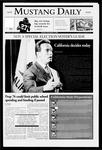 Mustang Daily, November 8, 2005