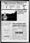 Mustang Daily, November 30, 2005